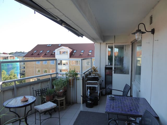 Terrace from another angle.