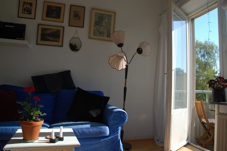 Calm area, 5 minutes from Södermalm - Estocolmo - Apartamento