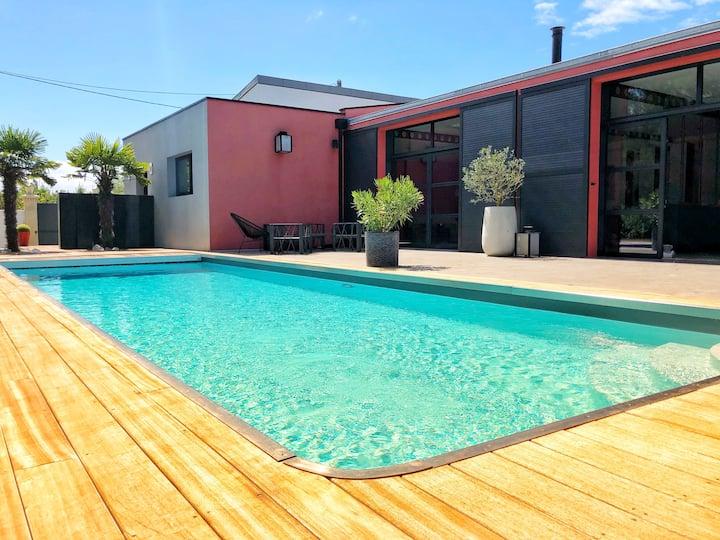 Luxueuse Villa avec Piscine chauffée - La Rochelle