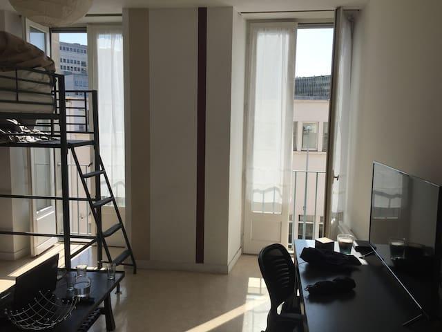 Studio Lumineux Hyper centre Nantes