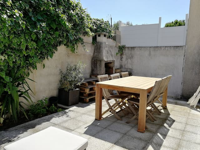 Terrasse table 8 places