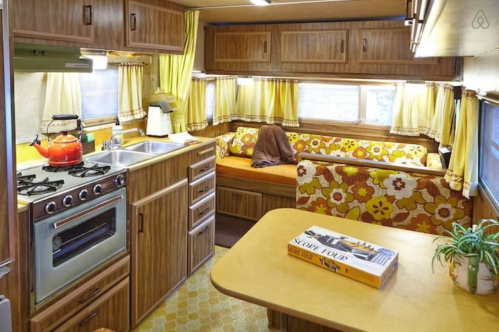 """The Spirit of '76""  - A Vintage 1970's Camper"