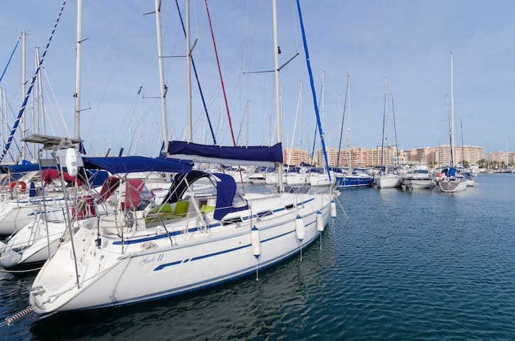 Barco velero 3 camarotes La Manga - La Manga del mar Menor - Bateau