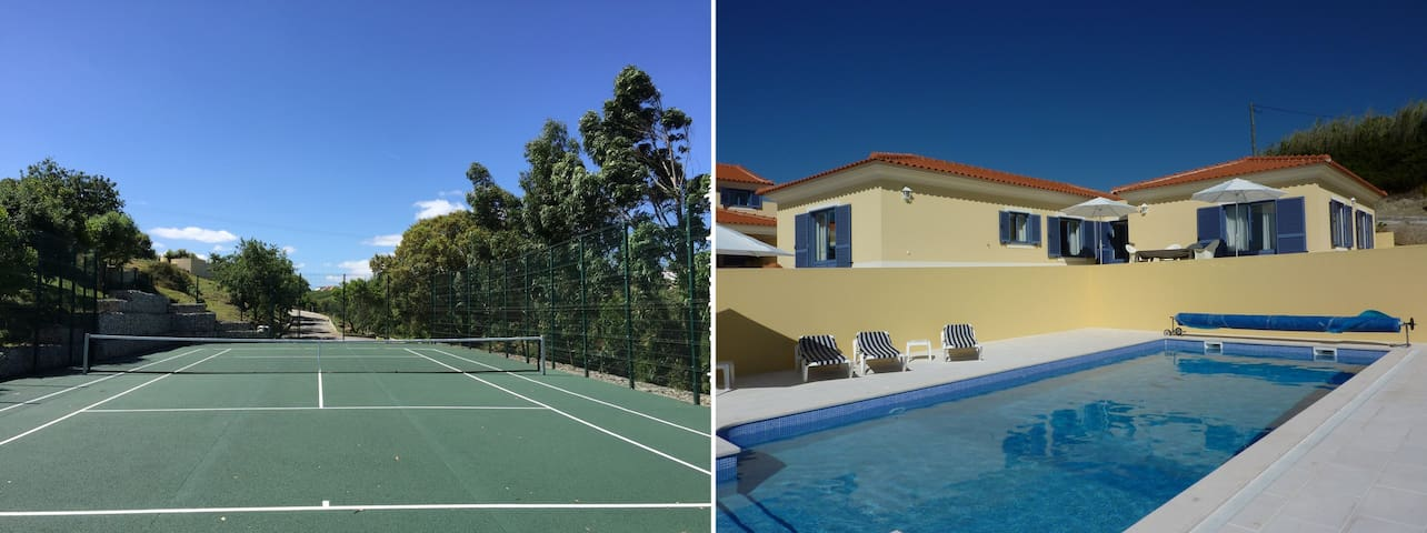 Unique villa with private pool and tenniscourt