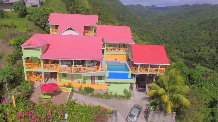 Tropical Paradise View Mini Hotel Room  #2