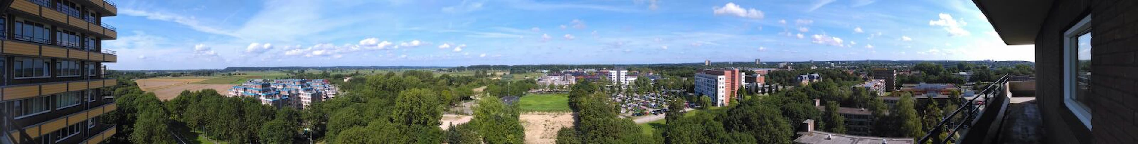Spacious appartment with beautiful view - Wageningen - Appartement