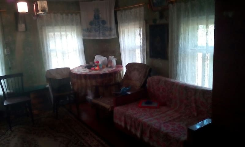 House with great experience of Russian life ;)