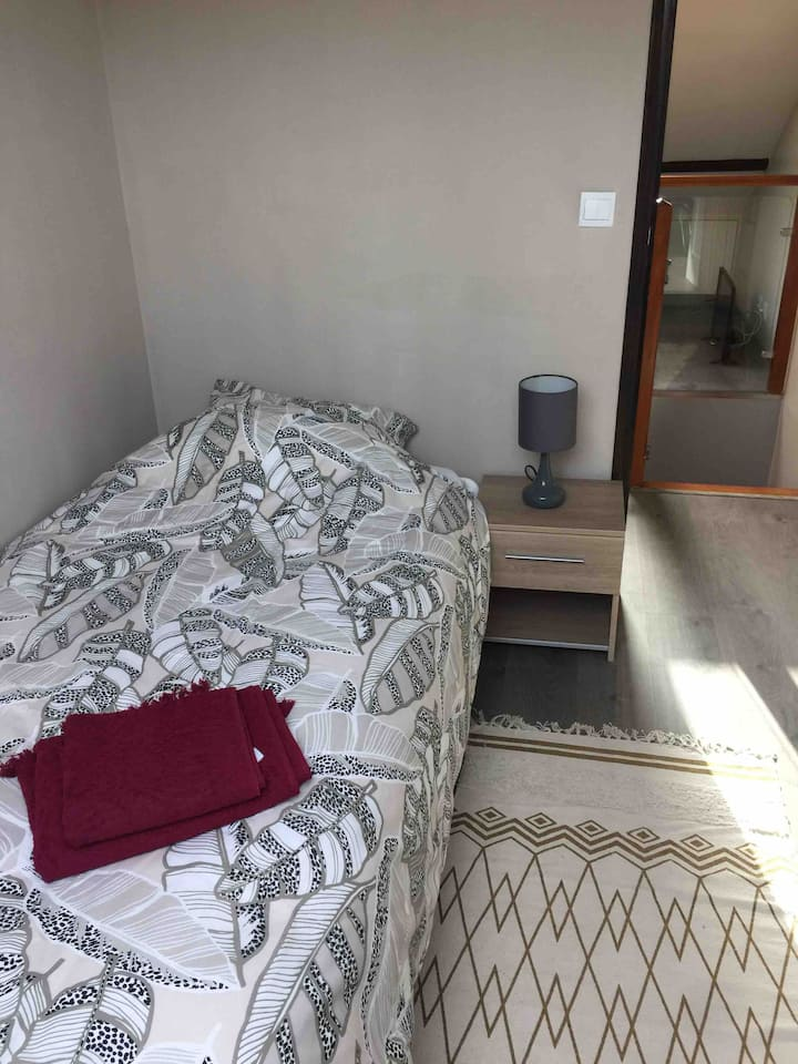 Chambre cozy avec salle de douche à l'italienne