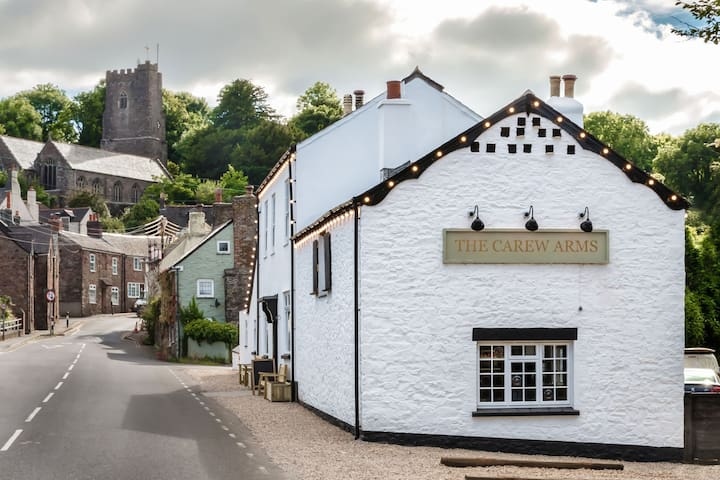 Two bedroom flat above charming village pub