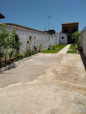 Casa privativa em Itanhaém Bairro Cibratel II