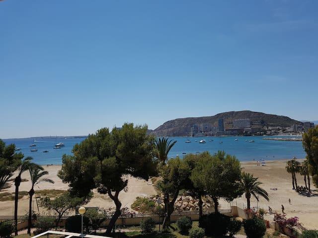 Apartamento 1° línea playa & vistas & relax