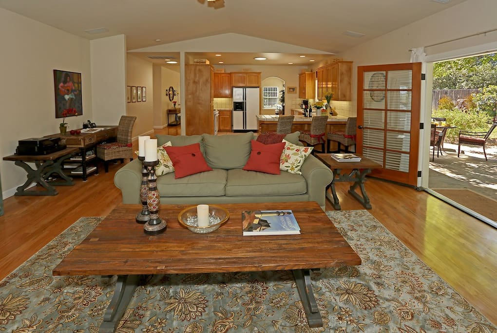 Living Room is comfortable and inviting