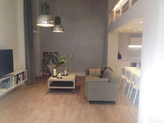 Industrial Design Open Space flat - Milan - Loft