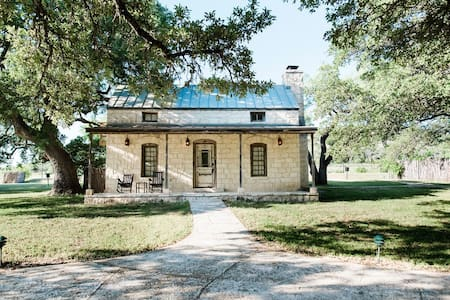 Contigo Ranch #4 | Historic Hill Country Cabin