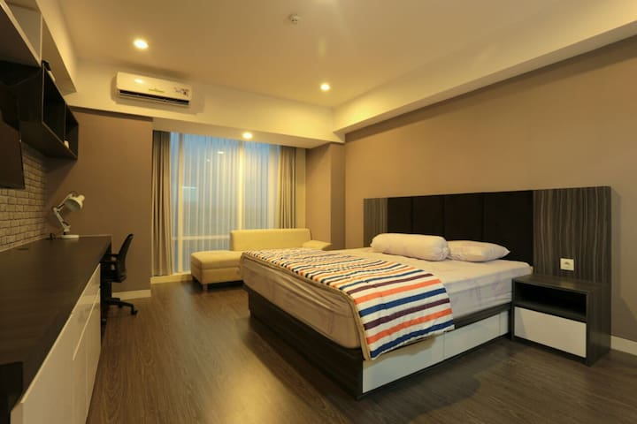 Comfortable & Spacious Apartment in Yogyakarta - Ngaglik - Appartement