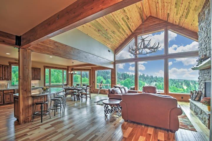 'Aspen Crest' 5BR Home w/ Pikes Peak Views - Florissant - Casa