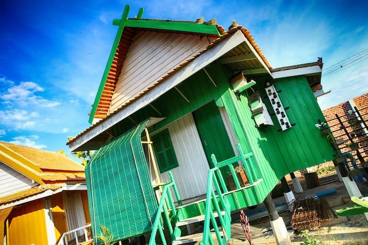 Soban Teuk Green - Kampong Thom Province - Allotjament sostenible a la natura