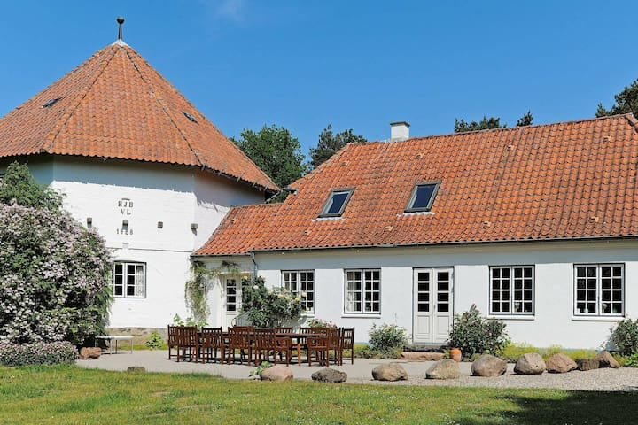 Cozy Holiday Home in Ullerslev with Swimming Pool