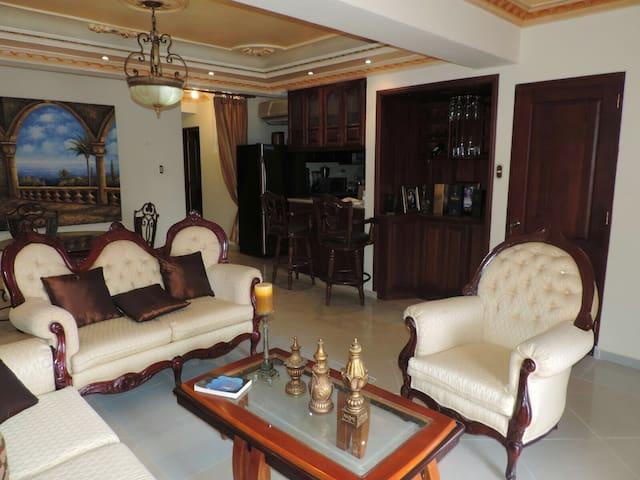 Luguso apartamento cerca de playa - Bani - Apartment