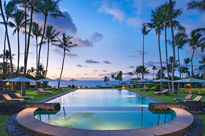 Travaasa Resort  Owners Ocean Suite Hana Maui