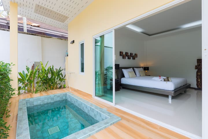 Bungalow with Jacuzzi in Nai Harn Beach - Phuket