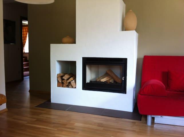 Gemütliche Ferienapartments für Sommer und Winter - Gundersheim - Apartament