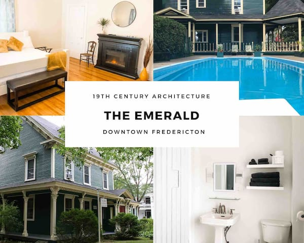 The Emerald # 3-King Suite-Parking-WIFI- Pool