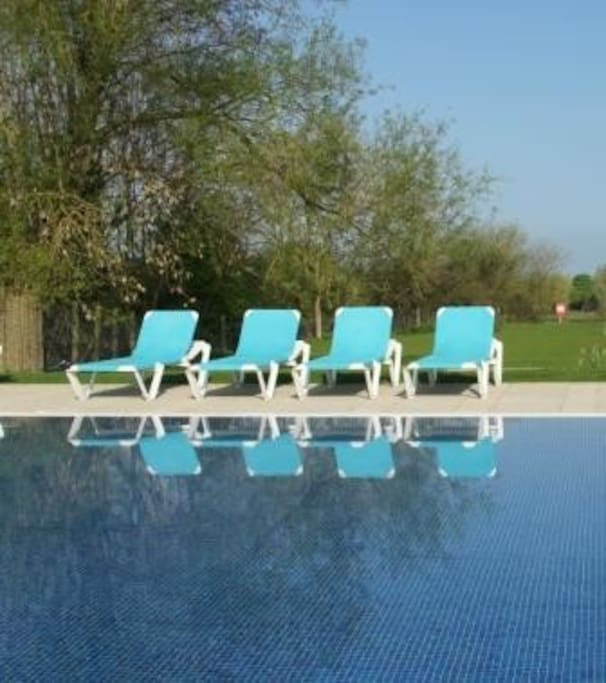 Outdoor heated pool is one of the main attractions (Easter to end Oct), along with tennis court, sauna, table tennis, bikes and some water sports for hire, endless walks, small shop and on-site restaurant, play area and wild-life nature reserve.