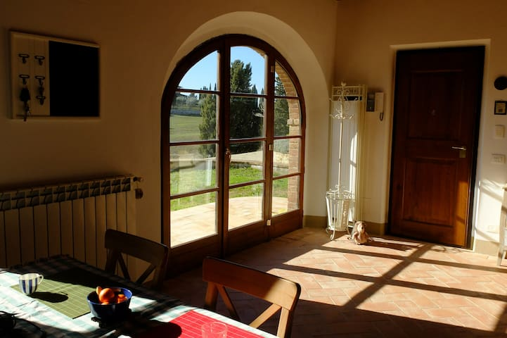 'Villa i Girasoli' Monticchiello Home with a View