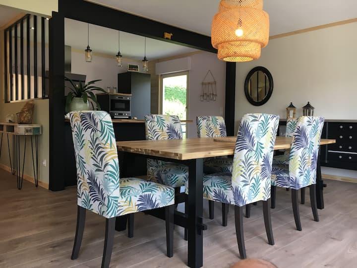 Maison 140 M2, Loggia, Balcon, jardin privatif