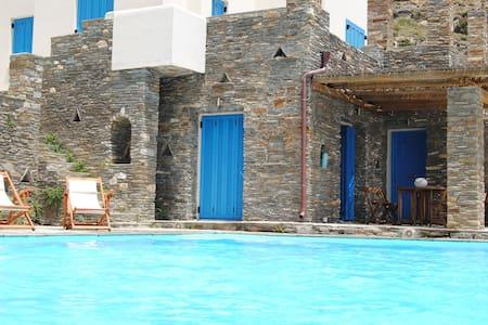 Anemos Villa - Andros - Casa