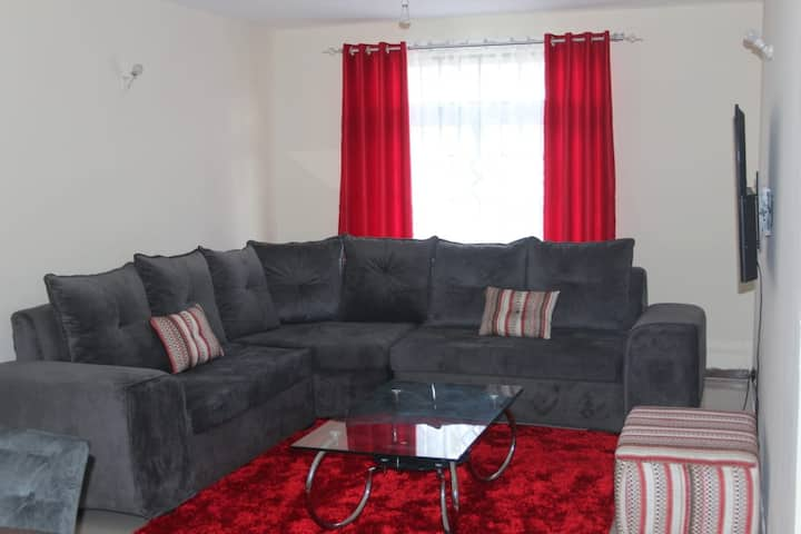Tulia Fully-Furnished Apartment- Nakuru Town