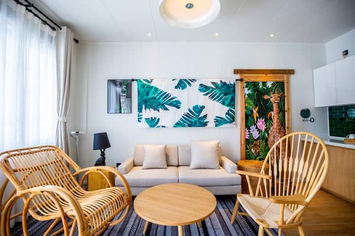 发现塞班套房酒店 Discovery Saipan 綠野仙蹤 套二