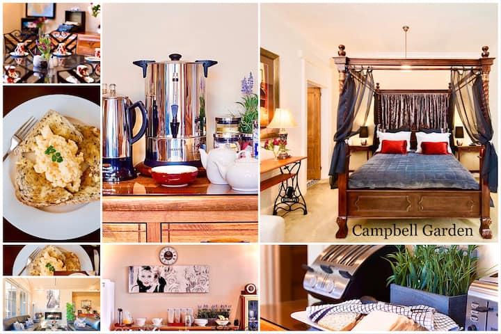 Campbell Garden 4 Poster Queen Includes Breakfast