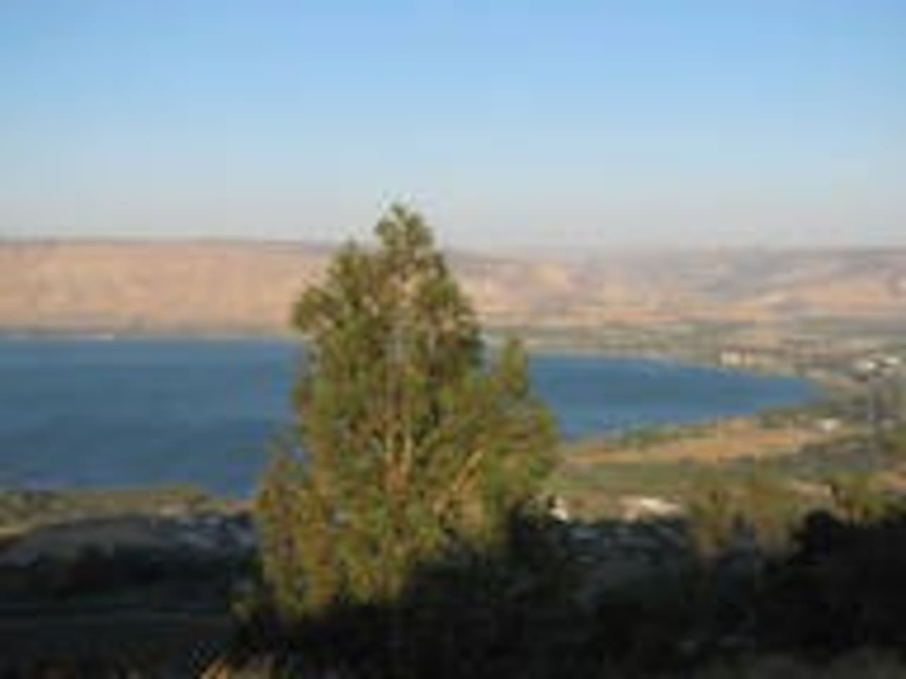 General view of The Sea of Galilee and River Jordan-close to the Villa