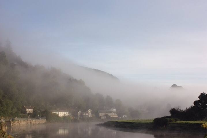 The village in the mist