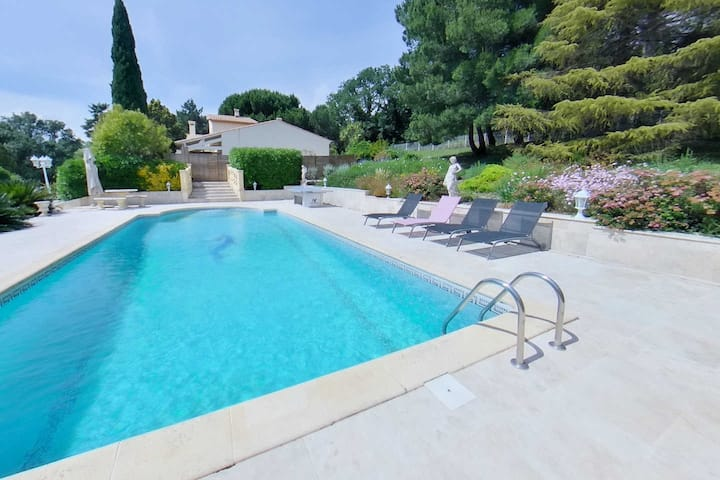 Fantastic Villa, Private Pool Sleeps 6 - Pezenas