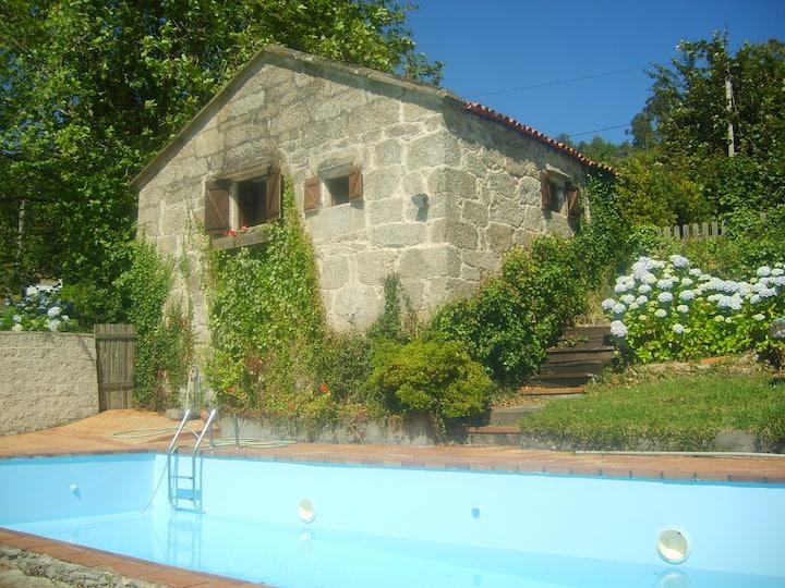 Casa tradicional gallega