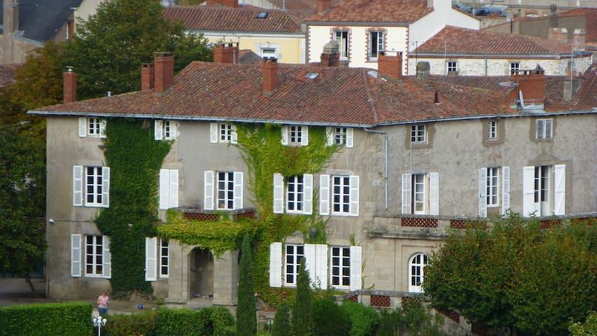 Maison de maître coeur de ville 3 personnes - Clisson - Casa