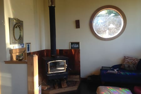 Beautiful private forest cabin - meditation & rest - Manchester - Srub