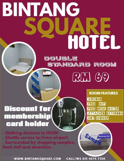 Standar Room For 2 pax