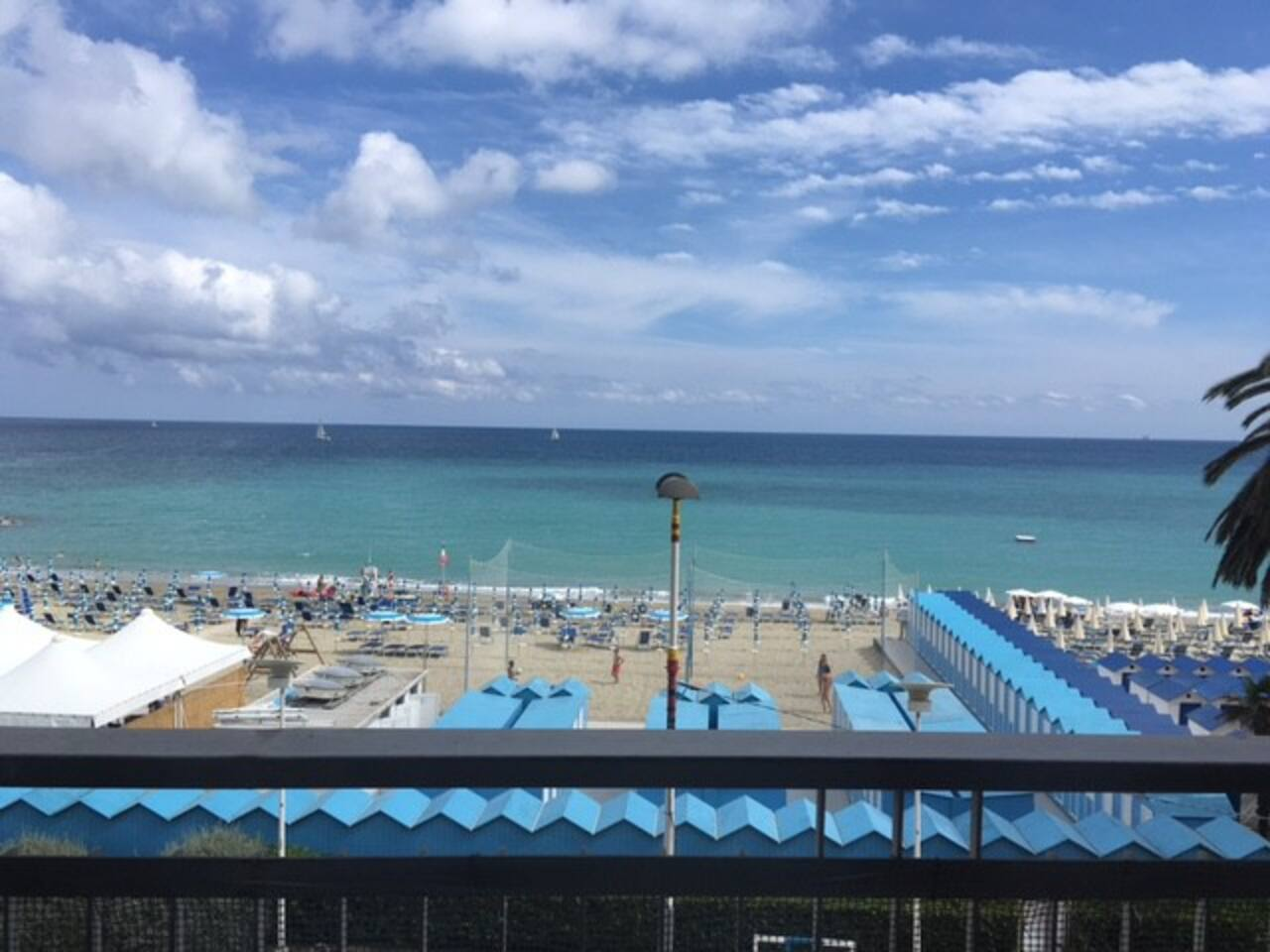 La vista dal balcone - the view from the balcony