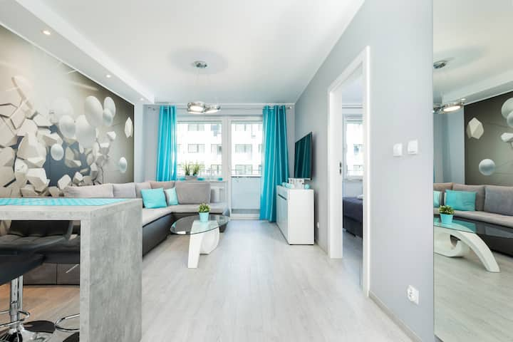 Premium One-Bedroom Apartment ☼ Bliżej Morza ☼
