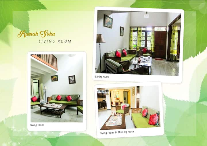 Rumah Soka Homestay Kota Bogor Timur @Katulampa