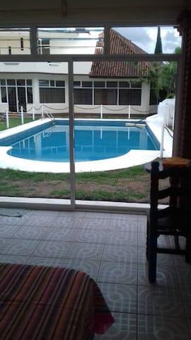 Habitación para 2 con alberca en Oaxaca - Oaxaca - Apartment