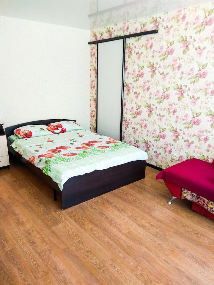 1 комнатная квартира посуточно.