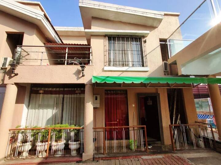 2bhk private villa with Terrace and Swimming pool