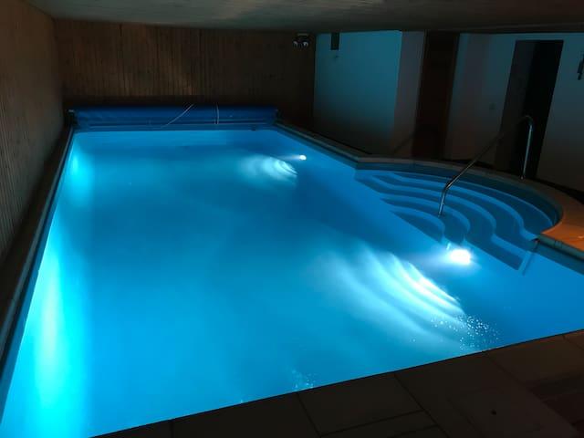Ferienwohnung mit Pool und Sauna