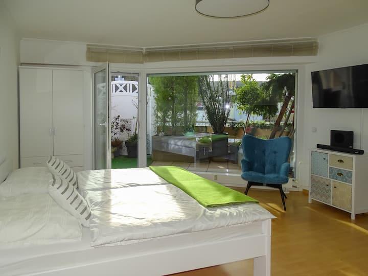 Studioappartement mit Südterrasse - 2020 renoviert