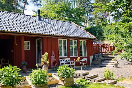 Little house near Viking ship museum